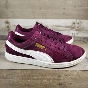 Puma Vikky Suede Sneakers | Purple